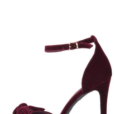 RHIANNON Bow Skinny Sandals