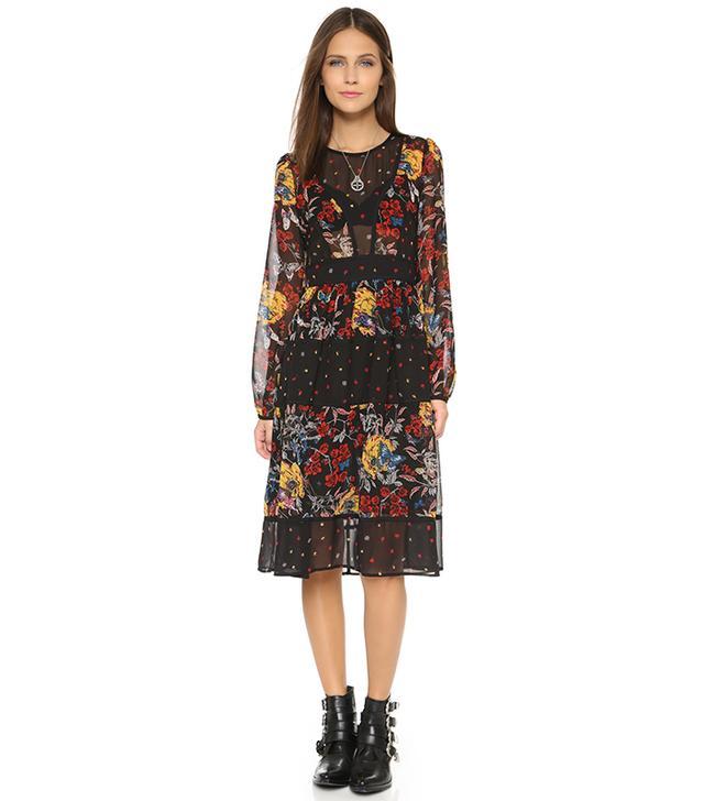 re: named Mixed Print Dress
