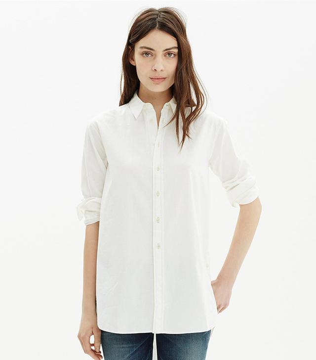 Madewell Button Shir