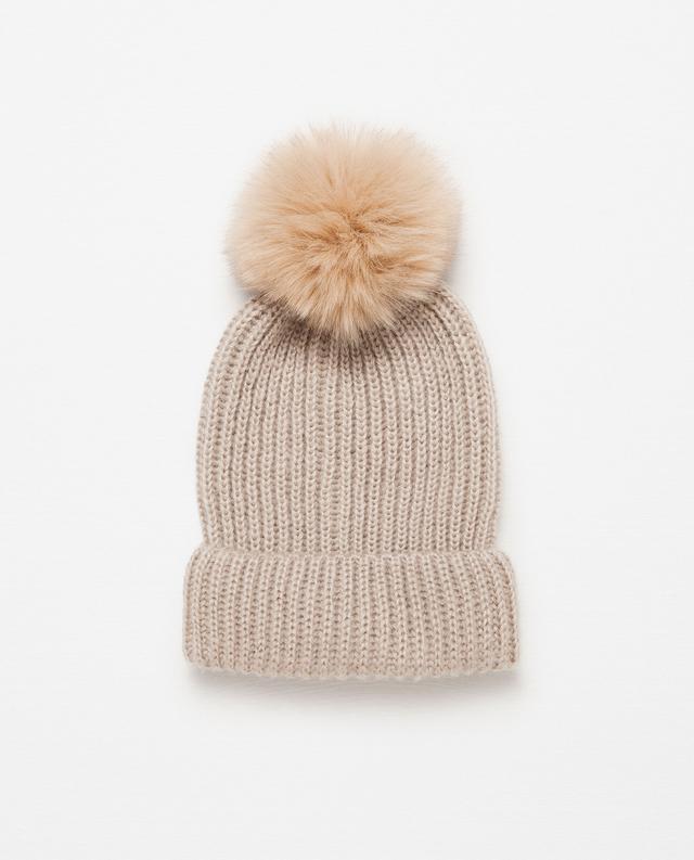 Zara Pompom Hat