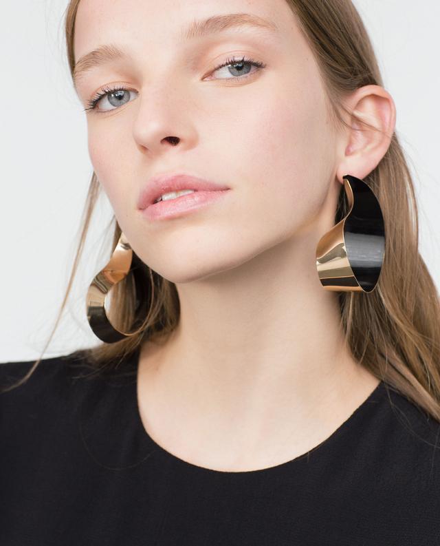 Zara Golden Earrings