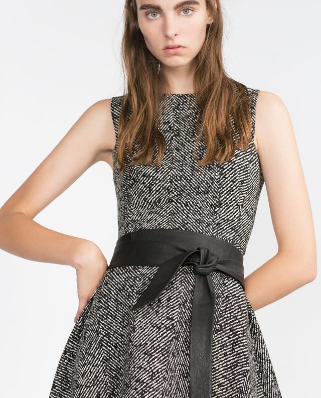 Zara Leather Sash