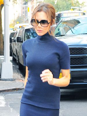 The Simple Fall Outfit Formula Victoria Beckham Loves