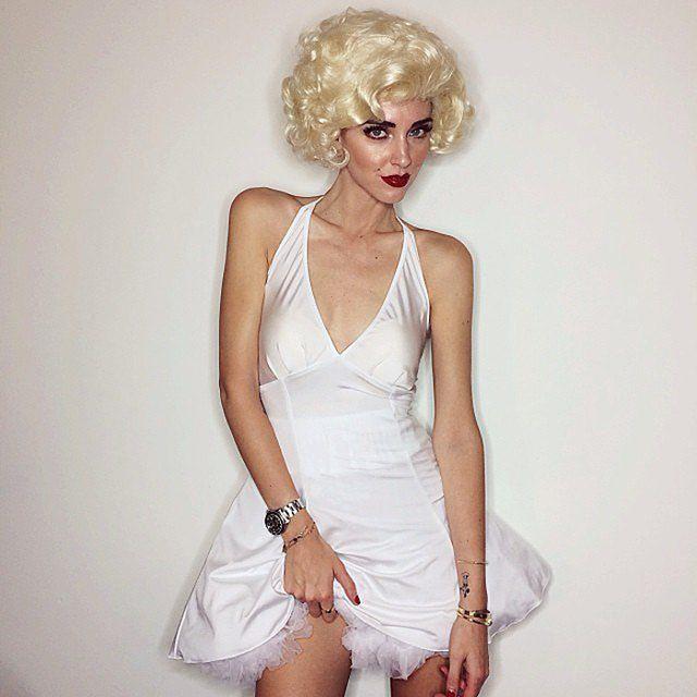 Chiara Ferragni as Marilyn Monroe