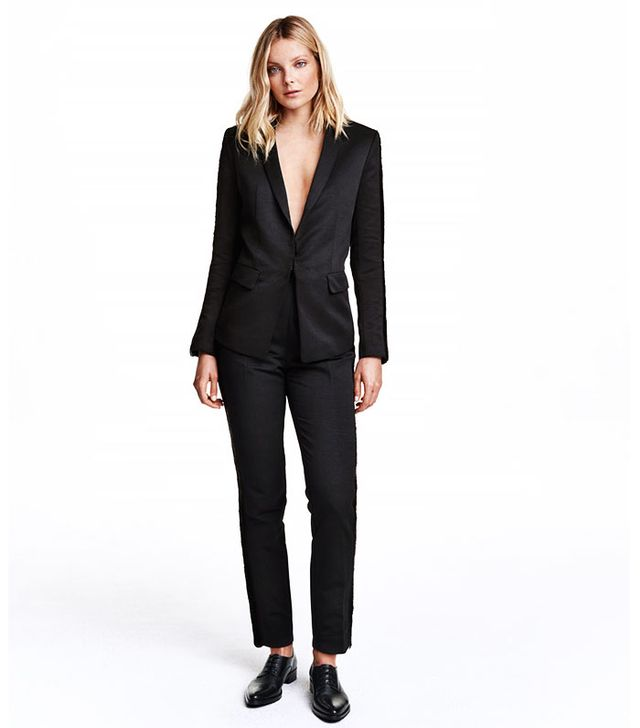 H&M Jacket With Fringe Trim