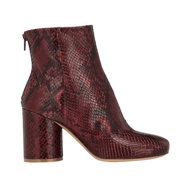 Maison Margiela Cylindrical-Heel Ankle Boots