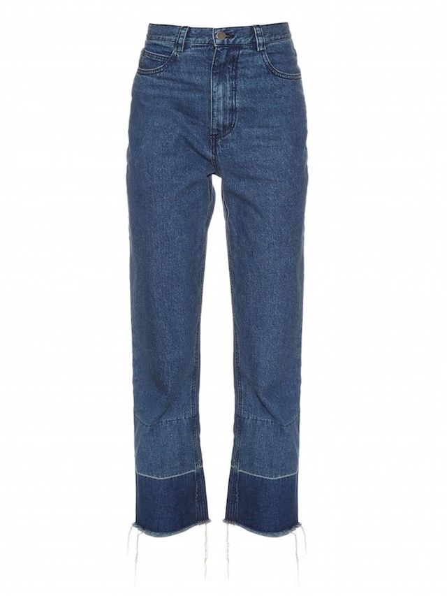 Rachel Comey Legion High-Rise Straight-Leg Jeans