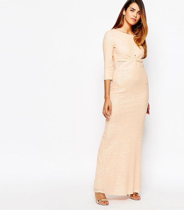 TFNC All Over Sequin Maxi Dress