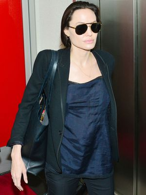 Surprise: Angelina Jolie's Travel Loafers Are Actually Affordable