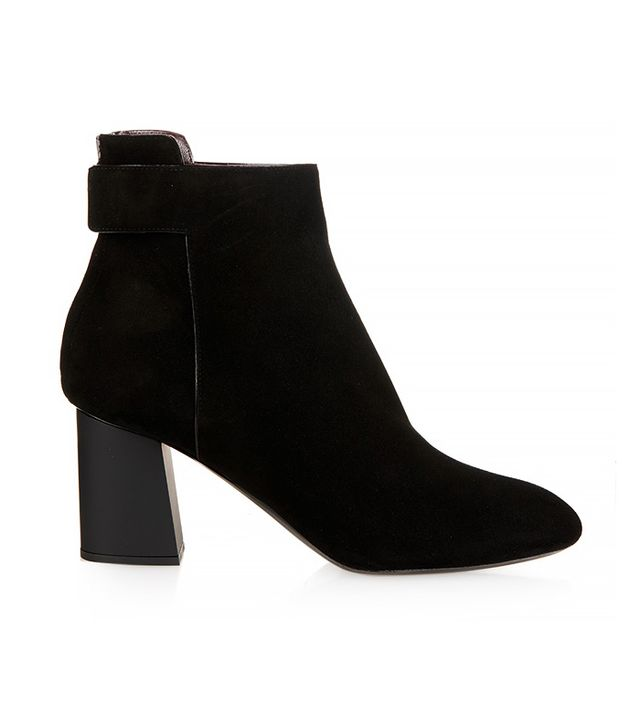 Proenza Schouler Suede Block-Heel Ankle Boots