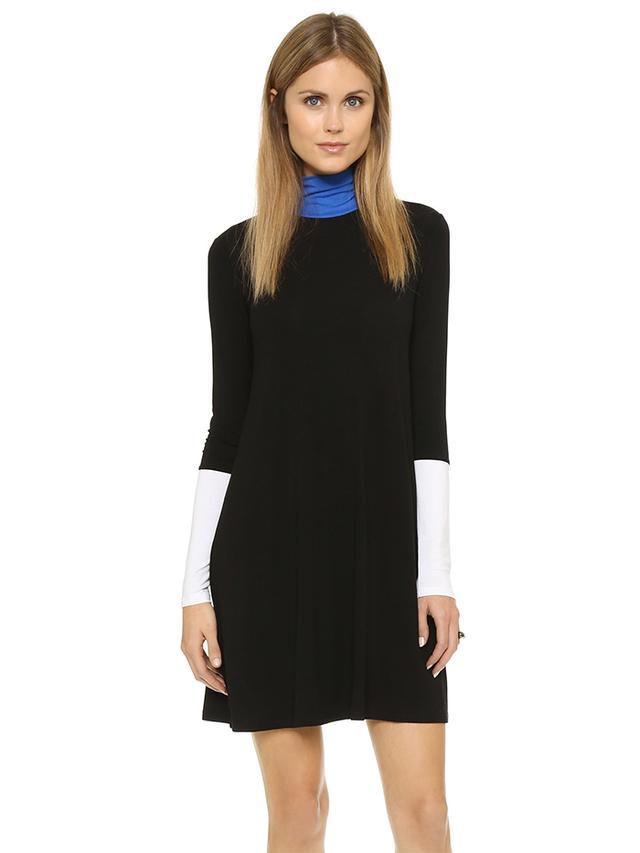 BCBG Max Azria Elsey Turtleneck Dress