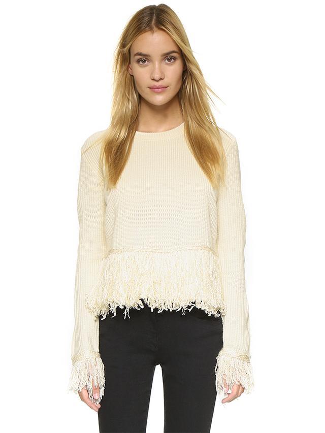Endless Rose Fringe Sweater