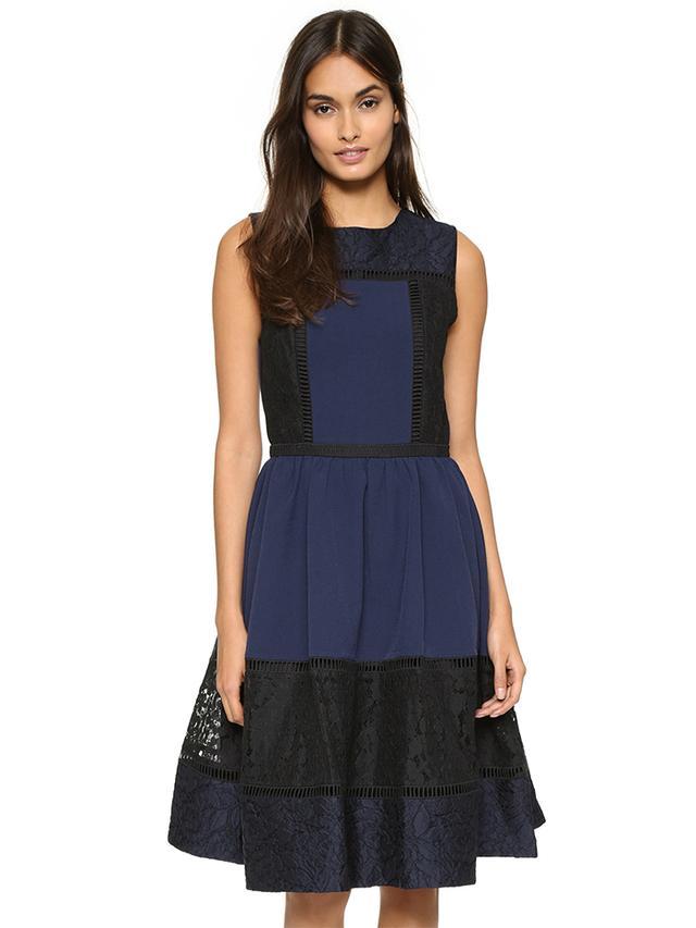 English Factory Lace Midi Dress
