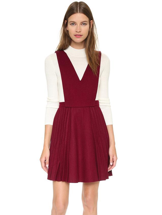 J.O.A. Pleat Dress
