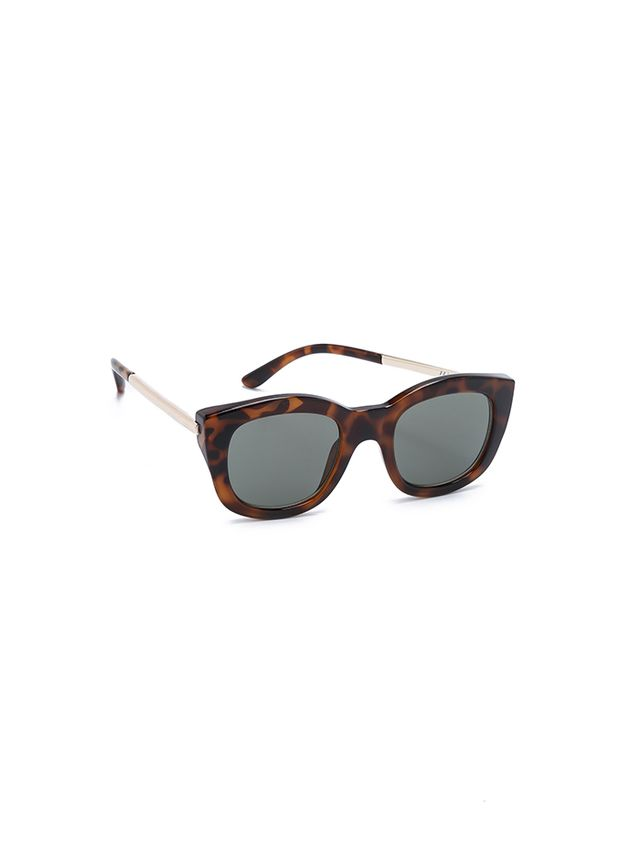 Le Specs Runway Luxe Mirrored Sunglasses