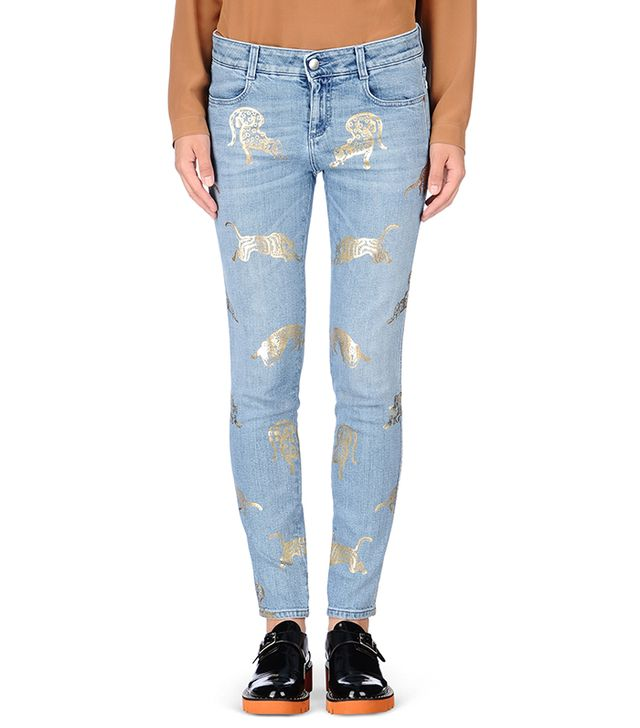 Stella McCartney Wild Cat Skinny Jeans