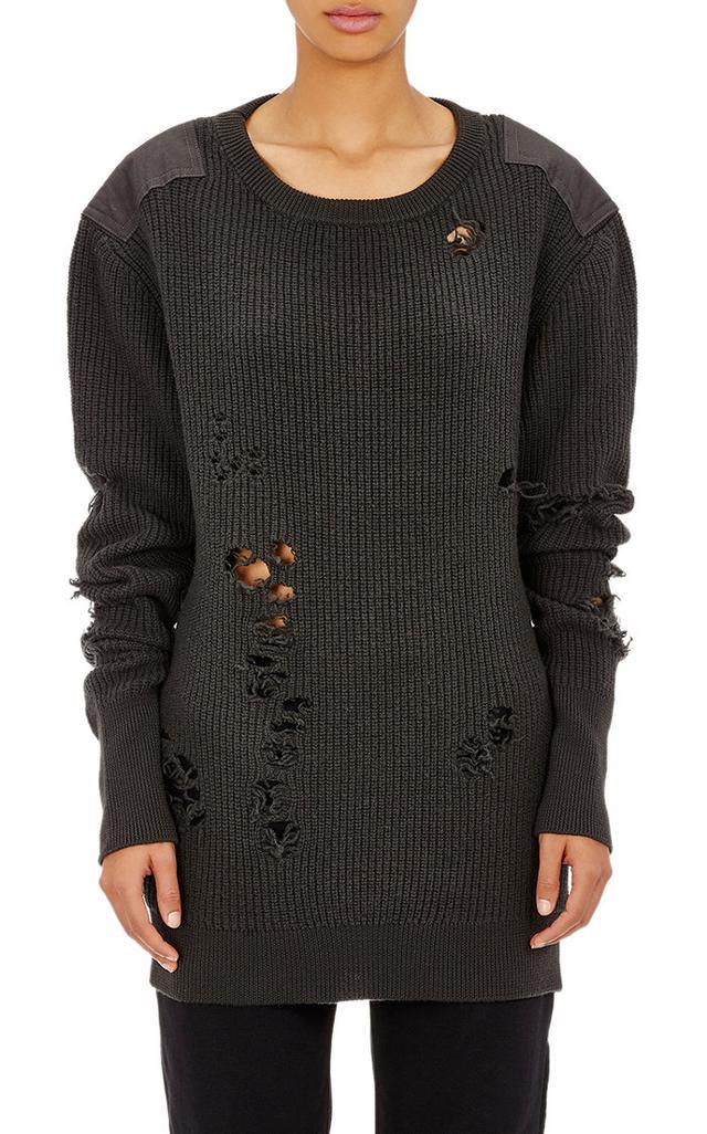 Adidas Originals by Kanye West Yeezy Season 1 Destroyed Sweater