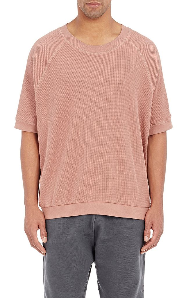 Adidas Originals by Kanye West Yeezy Season 1 Thermal-Knit T-Shirt