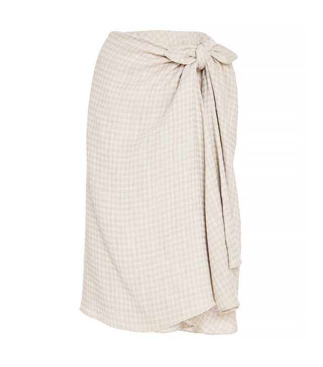 Brock Collection Gingham Twill Sienna Skirt