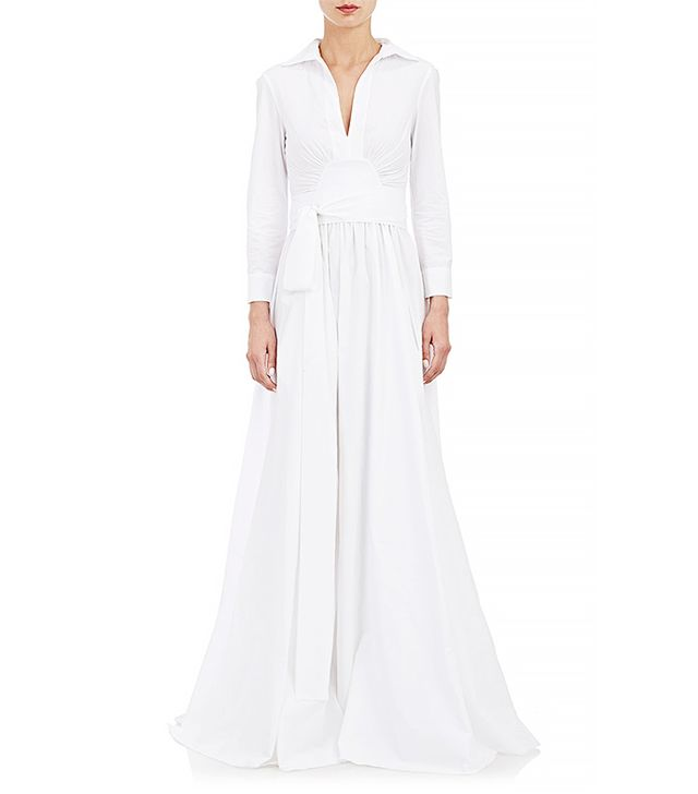 Brock Collection Poplin Gown