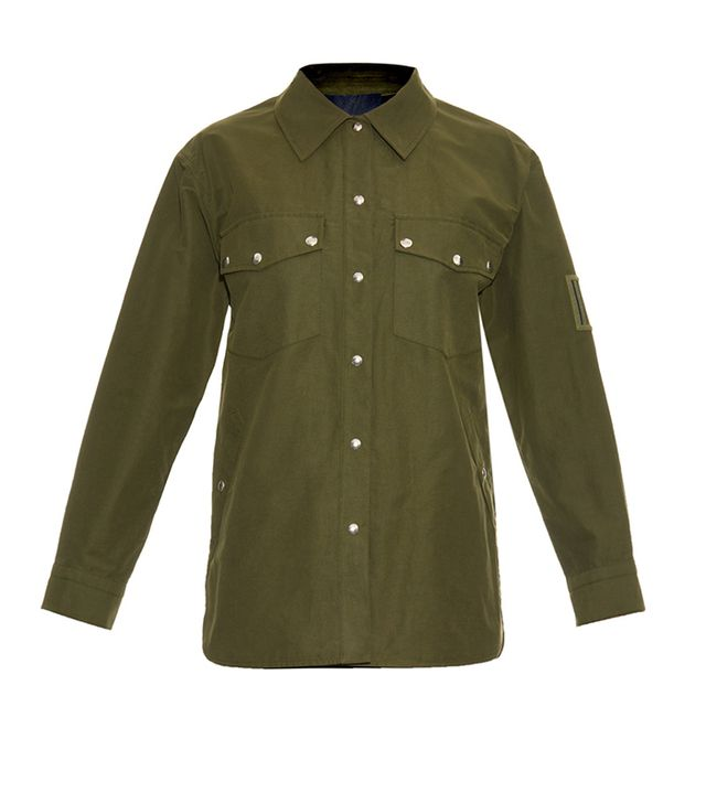 Alexander Wang Surplus Cotton-Blend Military Jacket