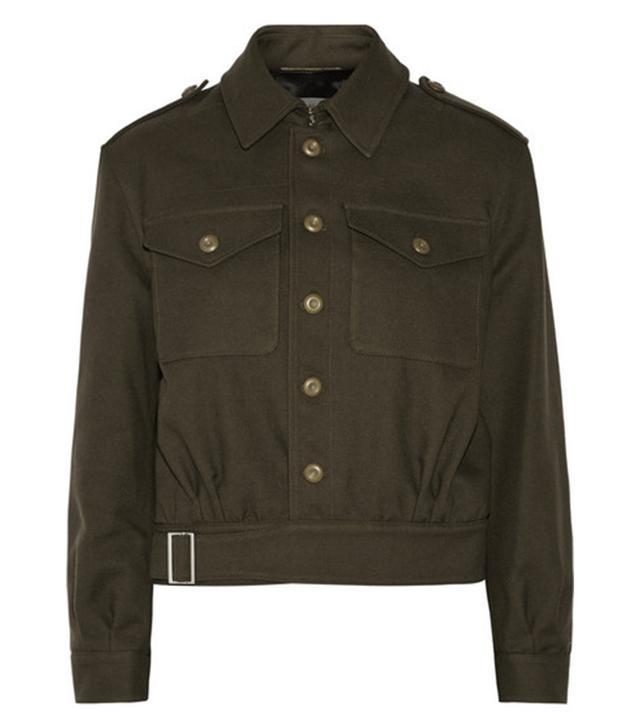 Saint Laurent Cotton and Wool-Blend Jacket