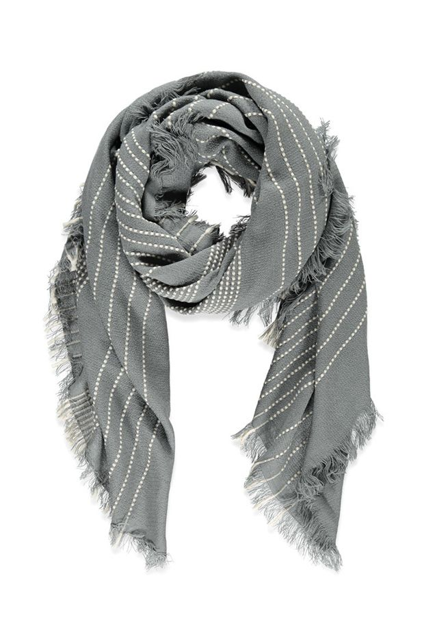 Forever 21 Striped Scarf