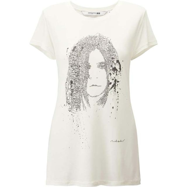Carine Roitfeld x Uniqlo Carine Graphic Short Sleeve T-Shirt