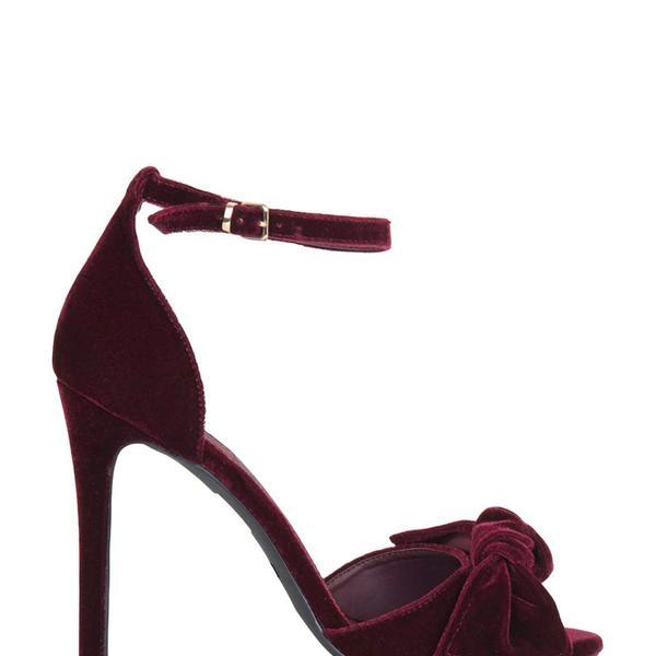 Topshop Rhiannon Bow Skinny Sandals