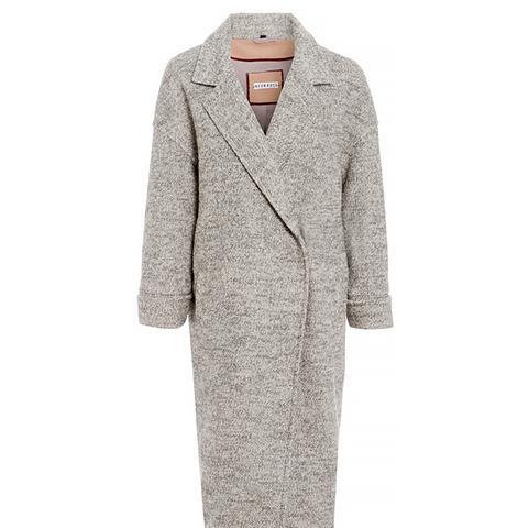 Blanket Cocoon Coat