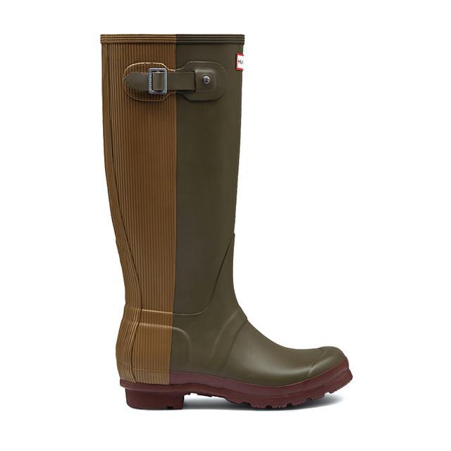 Hunter Original Ribbed Back Rain Boots