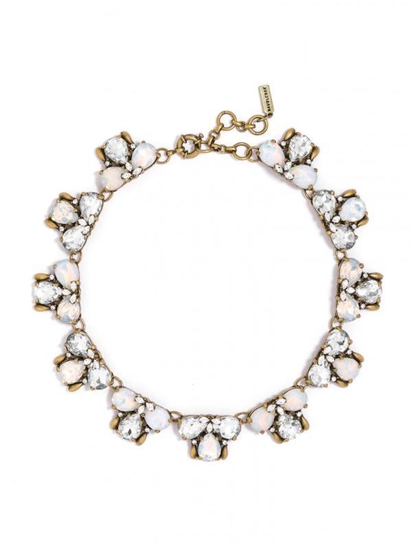 BaubleBar Crystal Flurry Collar