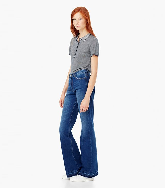Mango Flared Taylor Jeans