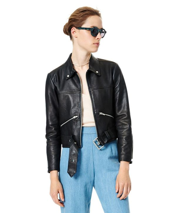 Veda One Leather Jacket