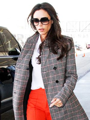 Victoria Beckham Just Wore the Best Statement Trousers Ever