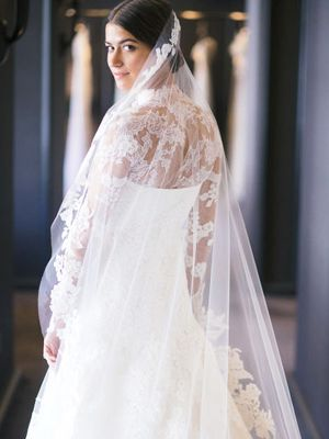 This Fashion Editor's Custom Wedding Dress Is Insanely Beautiful