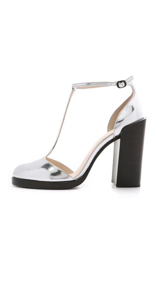 3.1 Phillip Lim Augustine T-Strap Heels