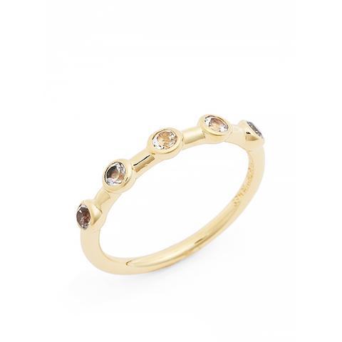 Jean White Topaz Ring