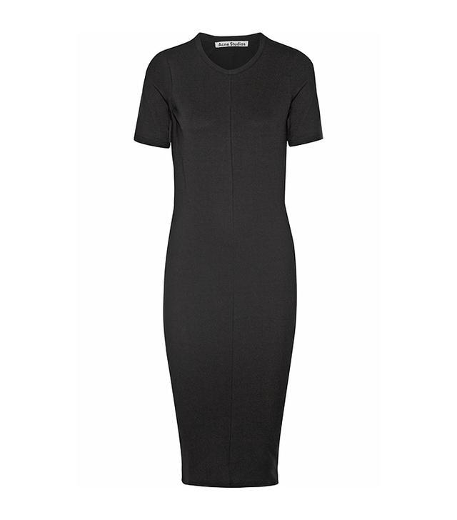 Acne Studios Stretch-Jersey Midi Dress