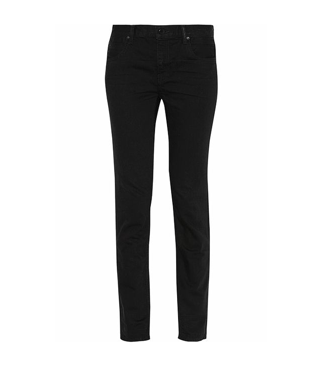 Alexander Wang High-Rise Straight Leg Jeans