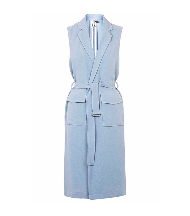 Topshop Sleeveless Duster