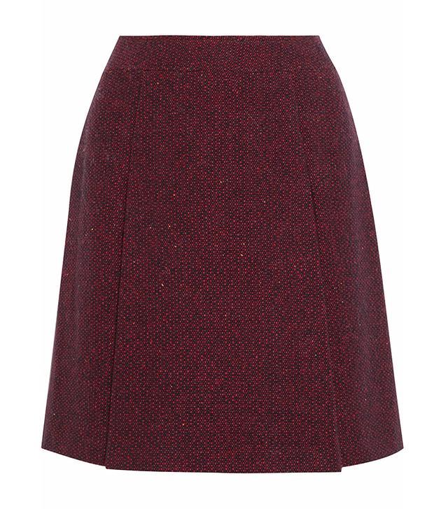 A.P.C. Bab Tweed Skirt