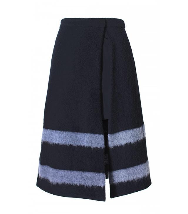 Tibi Needle Felted Skirt