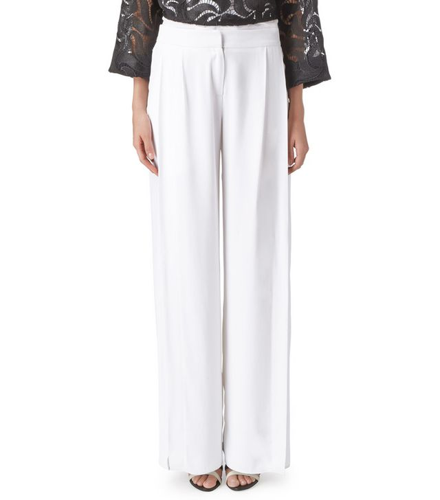 Maiyet Wide Leg Pants With Slits