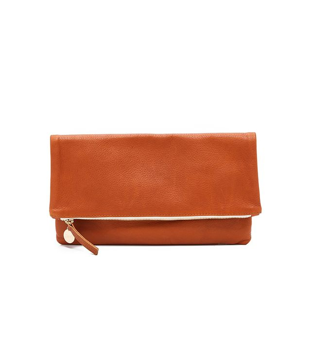 Clare V. Simple Foldover Clutch