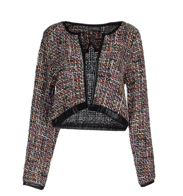 Soallure Tweed Blazer