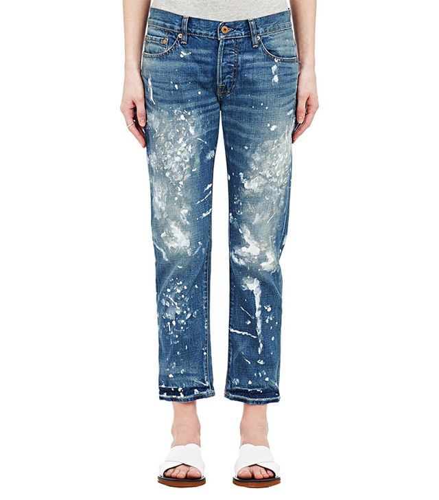 NSF Paint Splatter Jeans