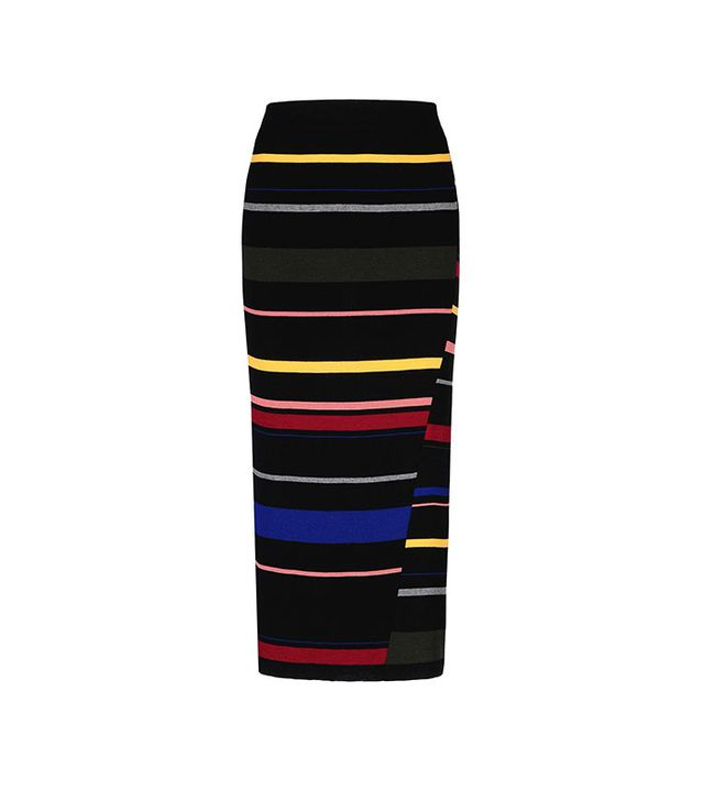Stella McCartney Tight Stripes Long Skirt