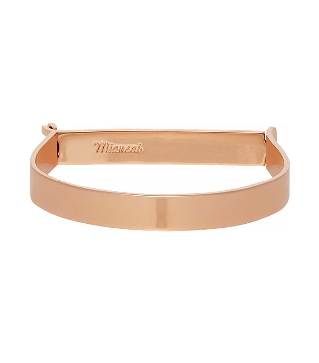 Miansai Thin Hudson Cuff Bracelet