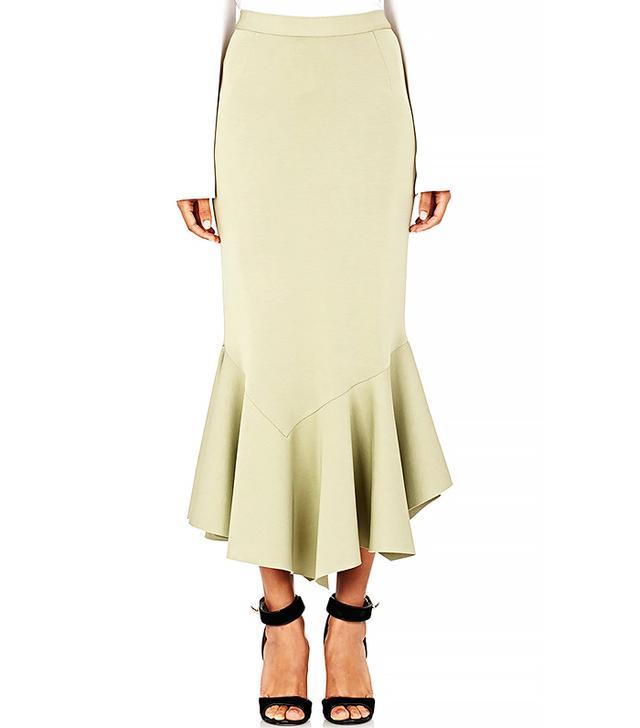 Givenchy Jersey Flounce Skirt